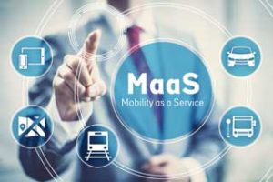 Application MaaS sur mobile